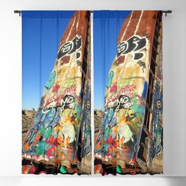 Apocalyptic Graffiti bus art Blackout Curtain