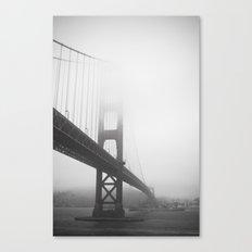 Golden Gate Bridge + Battleship Canvas Print