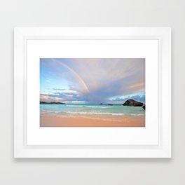 Bermuda Beach 3 Framed Art Print