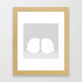 rabbits Framed Art Print