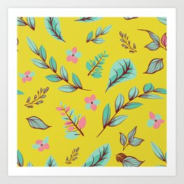 Flower Design Series 4 Art Print
