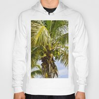 palm trees Hoodies featuring Palm Trees by Cheryl - DevilBear Photography