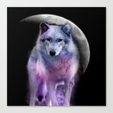 moon's silence Canvas Print