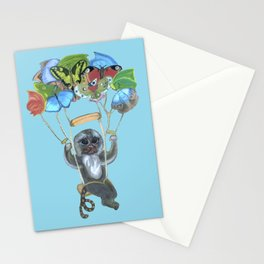 Pygmy Marmoset - Skydiver Stationery Cards