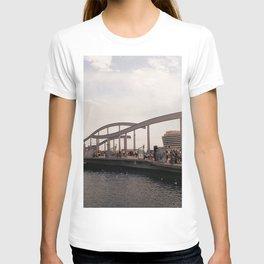 Port Vell sunset - Barcelona T-shirt