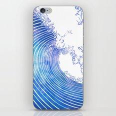 Pacific Waves III iPhone & iPod Skin
