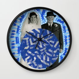 Wedding Portal 006 Wall Clock