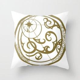 starchart Throw Pillow