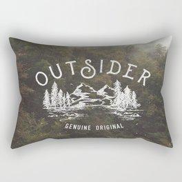 Outsider Rectangular Pillow