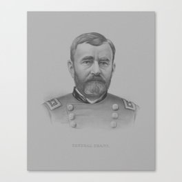 General US Grant Canvas Print