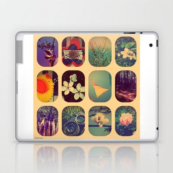 Spring collage Laptop & iPad Skin