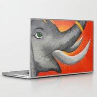 ganesh Laptop & iPad Skins featuring Ganesh by Erin Schamberger