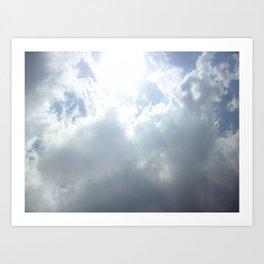 Open  skies Art Print