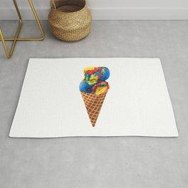 Superman Ice Cream Rug