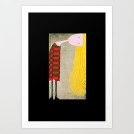 """Unadjusted"" Art Print"