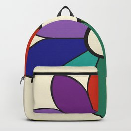 James Ward's Chromatic Circle 1903 (no background; interpretation) Backpack