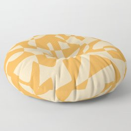 Geometric mosaic pattern boho Floor Pillow