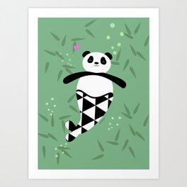 Merpanda Art Print