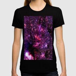galaXY Pink & Purple Stars T-shirt