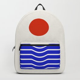 Going down-modern abstract Backpack