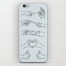 All Hands: Love is Love iPhone & iPod Skin