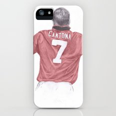 Eric Cantona iPhone (5, 5s) Slim Case