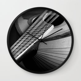 Mandolin Portrait 3 Wall Clock