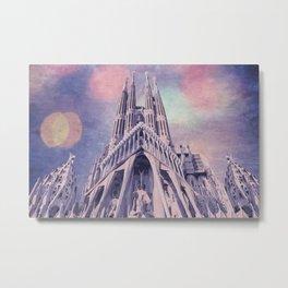 Barcelona Sagrada Familia Metal Print