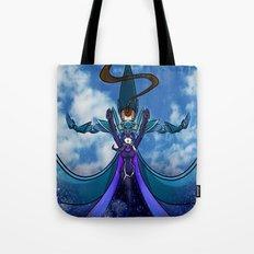 Starry Cerulean Skies Tote Bag