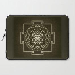 Sri Yantra XI monochrome Laptop Sleeve