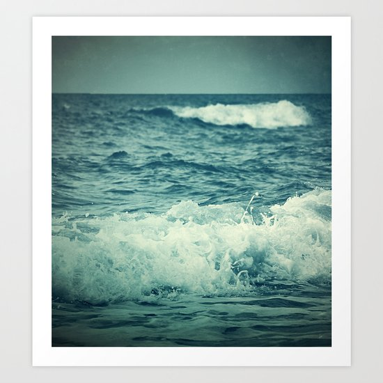 The Sea IV. Art Print