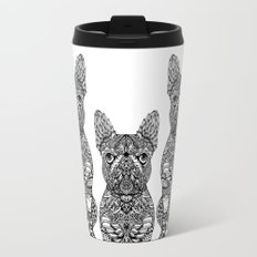 Mandala Frenchie Travel Mug