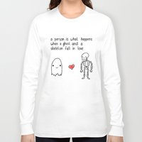 medical Long Sleeve T-shirts featuring Medical Fact by Eat Yr Ghost