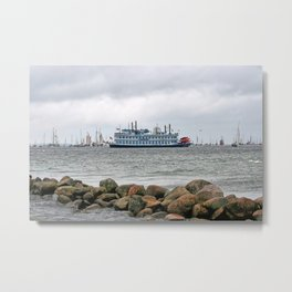 Louisiana Star Metal Print