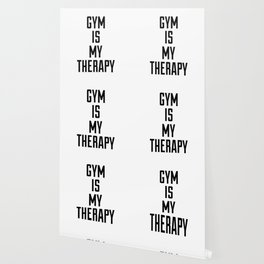 Gym is my therapy Wallpaper