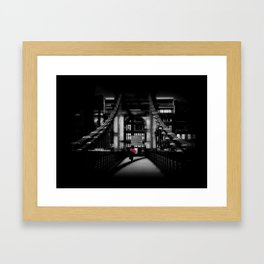 The Spy With a Heavy Cold? Framed Art Print