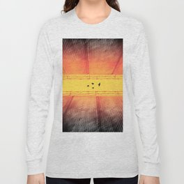 The Closing Apartheid wall in Palestine Long Sleeve T-shirt