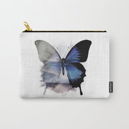 Blue Shadows Butterfly Carry-All Pouch