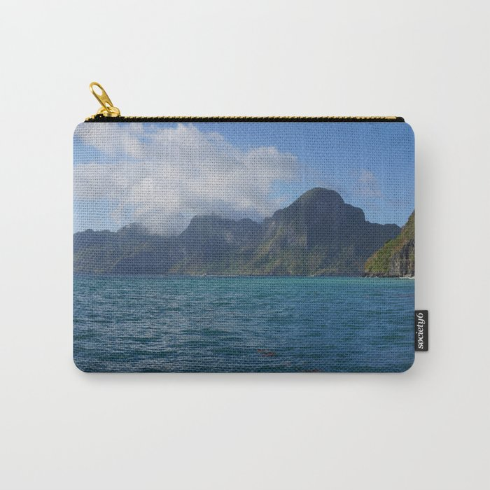 The Storm Approaches in Palawan Carry-All Pouch