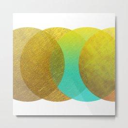 Goldpunkt Metal Print