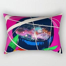 Cosmic Girl Rectangular Pillow