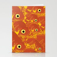 goldfish Stationery Cards featuring Goldfish by Monty