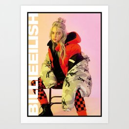billie eilish merch Art Print
