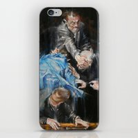 inner demons iPhone & iPod Skins featuring Demons by Tatiana Ivchenkova