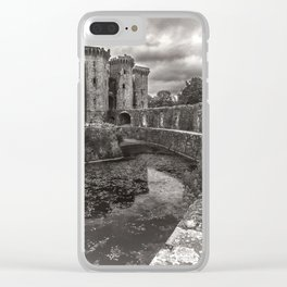 The Castle Moat Clear iPhone Case