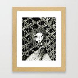 Ball Dress Framed Art Print