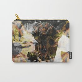 The Floral Photographer Carry-All Pouch