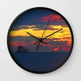 Sunset Light Wall Clock