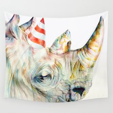Rhino's Party Wall Tapestry