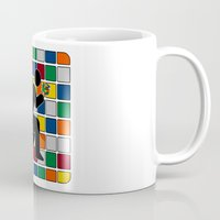 poop Mugs featuring Poop & Cube by GvssPencil